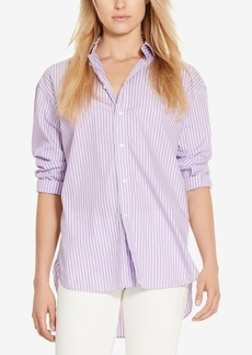 Ralph Lauren: Polo Polo Ralph Lauren Boyfriend Fit Striped Shirt