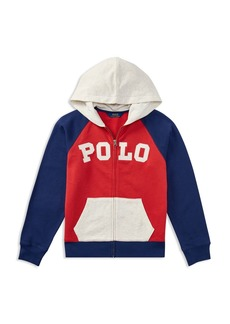 Ralph Lauren Polo Polo Ralph Lauren Boys' Atlantic Terry Long-Sleeve Hoodie - Big Kid