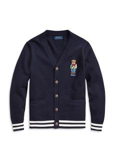 Ralph Lauren: Polo Polo Ralph Lauren Boys' Bear Cardigan Sweater - Big Kid