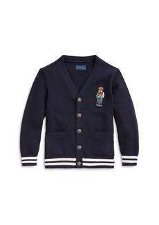 Ralph Lauren: Polo Polo Ralph Lauren Boys' Bear Cardigan Sweater - Little Kid