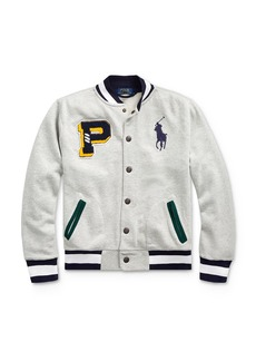 Ralph Lauren Polo Polo Ralph Lauren Boys' Big Pony Baseball Jacket - Big Kid