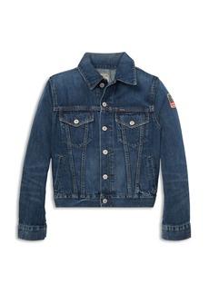 Ralph Lauren Polo Polo Ralph Lauren Boys' Cotton Denim Trucker Jacket - Big Kid