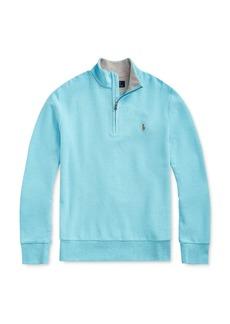 Ralph Lauren Polo Polo Ralph Lauren Boys' Cotton Mesh Half-Zip Sweater - Big Kid