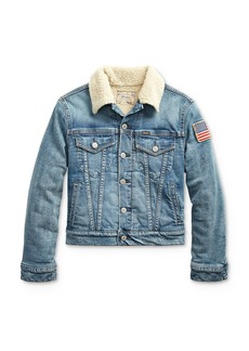 Ralph Lauren Polo Polo Ralph Lauren Boys' Denim Trucker Jacket - Big Kid