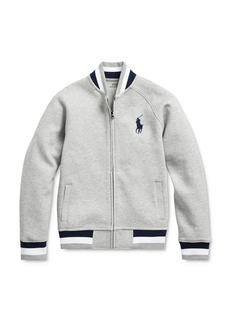Ralph Lauren Polo Polo Ralph Lauren Boys' Double-Knit Baseball Jacket - Big Kid