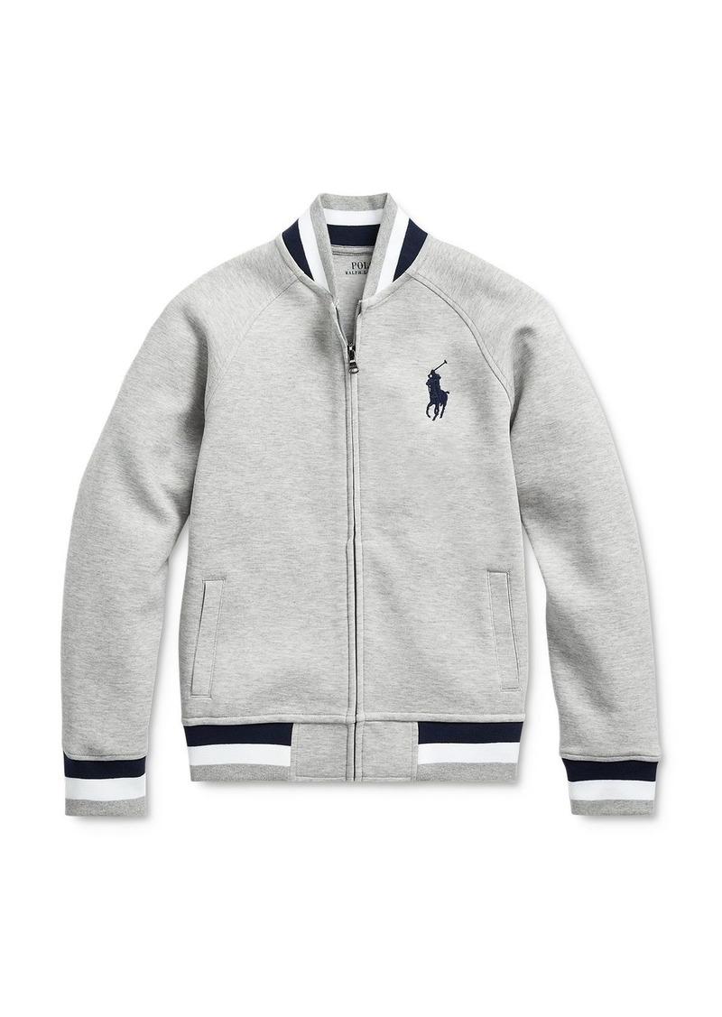 Ralph Lauren Polo Polo Ralph Lauren Boys' Double-Knit Baseball Jacket - Big Kid