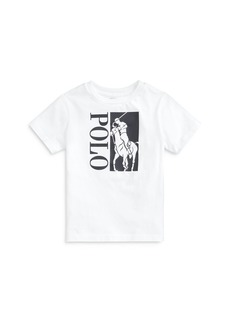 Ralph Lauren: Polo Polo Ralph Lauren Boys' Graphic Logo Tee - Little Kid