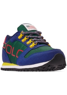 Ralph Lauren: Polo Polo Ralph Lauren Boys' Oryion Casual Sneakers from Finish Line