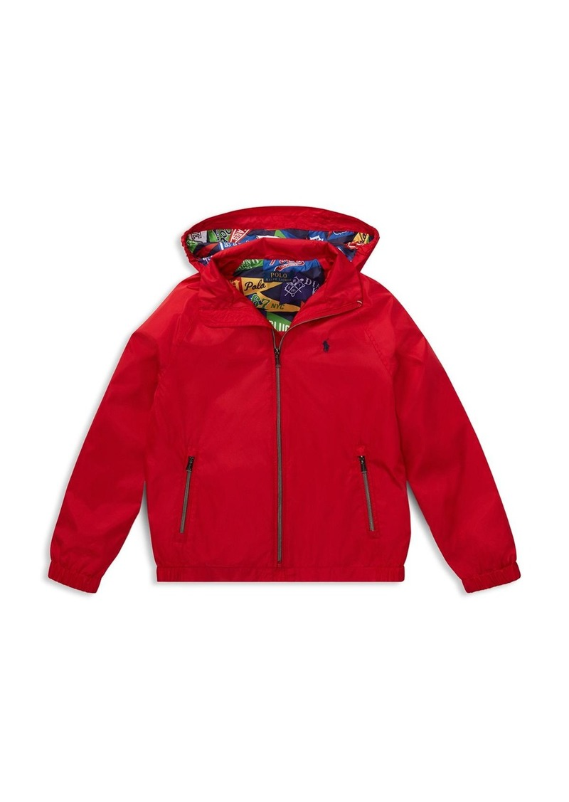 9b779e91e Ralph Lauren Polo Polo Ralph Lauren Boys' Packable Windbreaker Jacket - Big  Kid