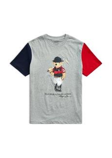 Ralph Lauren: Polo Polo Ralph Lauren Boys' Polo Bear Tee - Big Kid