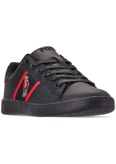 Ralph Lauren: Polo Polo Ralph Lauren Boys' Quilton Bear Casual Sneakers from Finish Line