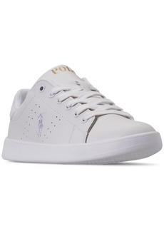 Ralph Lauren: Polo Polo Ralph Lauren Boys' Quilton Casual Sneakers from Finish Line