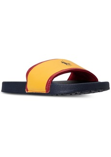Ralph Lauren: Polo Polo Ralph Lauren Boys' Quilton Slide Sandals from Finish Line