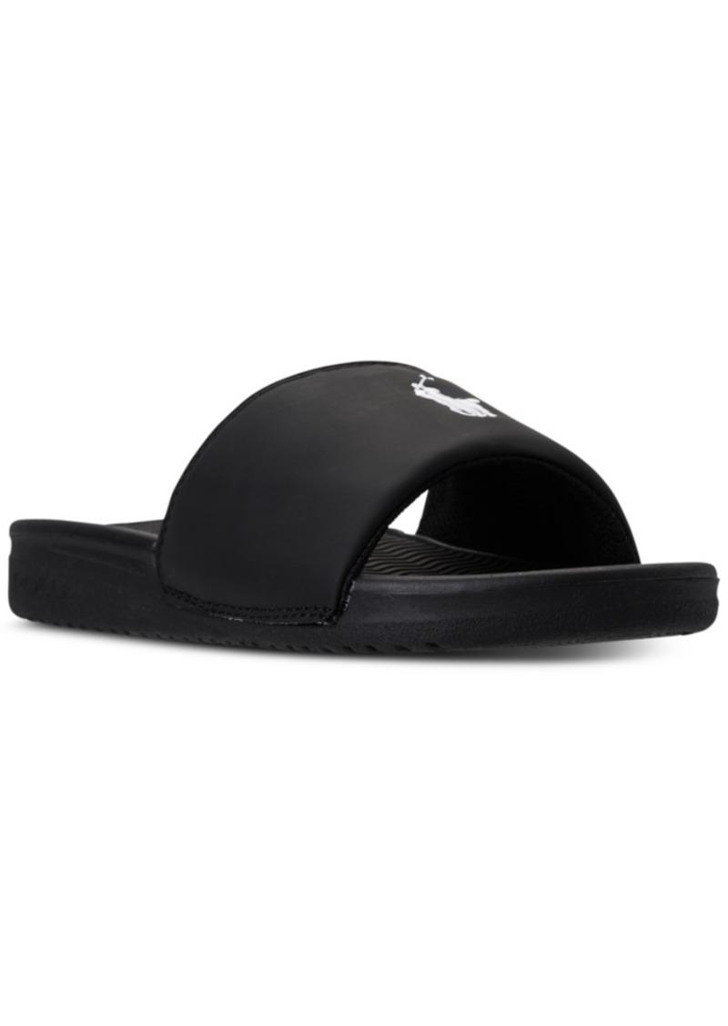 96826fa28 Ralph Lauren  Polo Polo Ralph Lauren Boys  Remi Slide Sandals from ...
