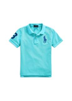 Ralph Lauren: Polo Polo Ralph Lauren Boys' Short Sleeve Polo - Little Kid