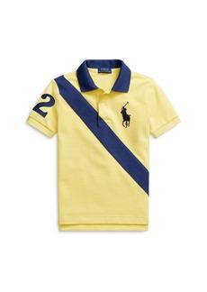 Ralph Lauren: Polo Polo Ralph Lauren Boys' Stripe Polo Shirt - Little Kid