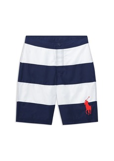 Ralph Lauren Polo Polo Ralph Lauren Boys' Striped Swim Trunks - Big Kid