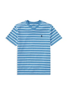Ralph Lauren Polo Polo Ralph Lauren Boys' Striped V-Neck Tee - Big Kid