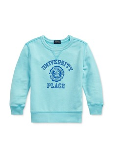Ralph Lauren Polo Polo Ralph Lauren Boys' University Place Logo French Terry Sweatshirt - Big Kid