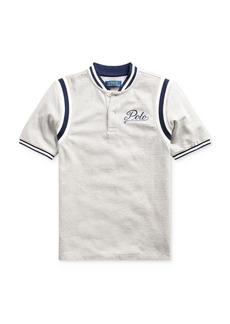 Ralph Lauren Polo Polo Ralph Lauren Boys' Varsity Baseball Tee - Big Kid