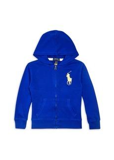 Ralph Lauren: Polo Polo Ralph Lauren Boys' Zip Hoodie - Little Kid