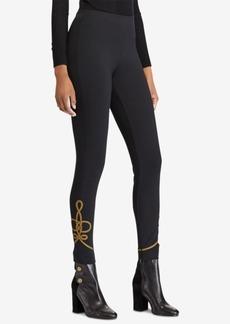 Ralph Lauren: Polo Polo Ralph Lauren Bullion-Trim Skinny Pants