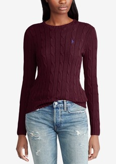 Ralph Lauren: Polo Polo Ralph Lauren Cable-Knit Cotton Sweater