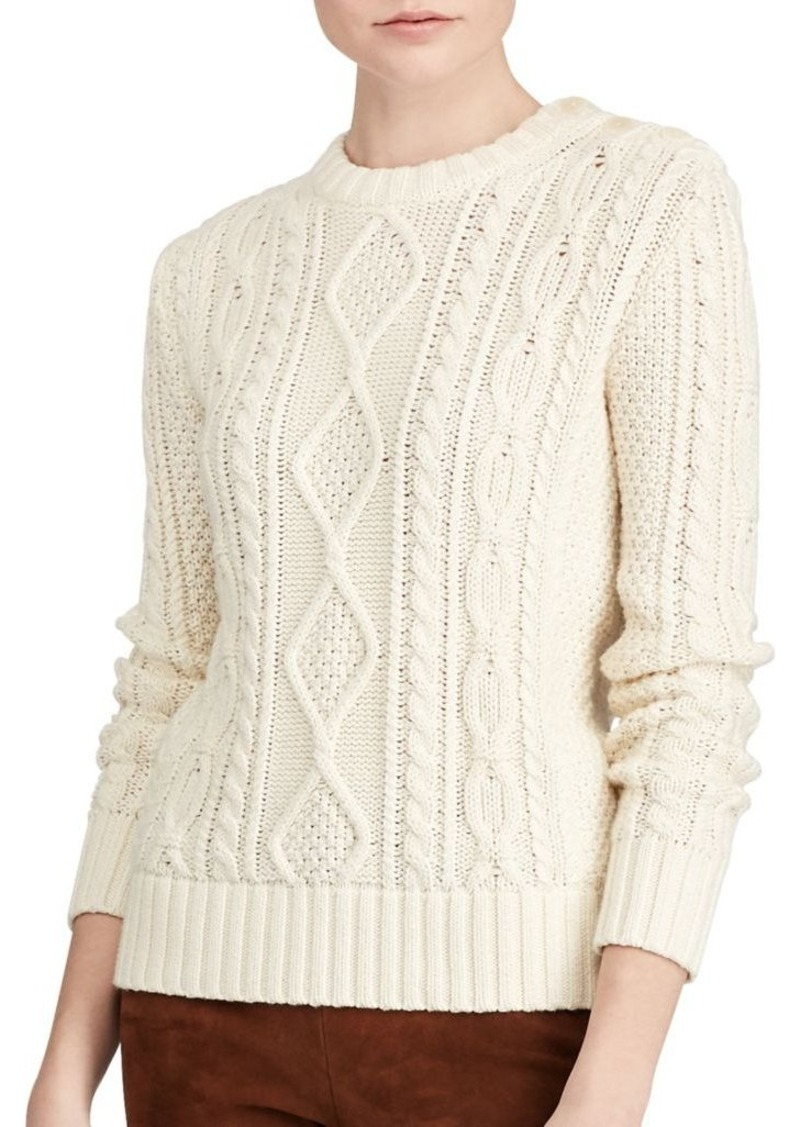 Ralph Lauren: Polo Polo Ralph Lauren Cable-Knit Sweater | Sweaters ...