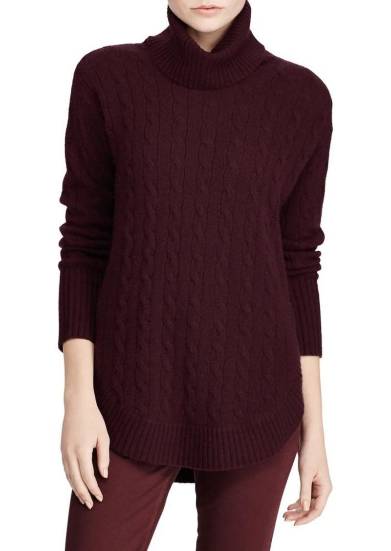a5cd417a83c Ralph Lauren  Polo Polo Ralph Lauren Cable-Knit Turtleneck Sweater ...