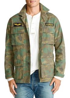 Ralph Lauren Polo Polo Ralph Lauren Camo Ripstop Shirt Jacket