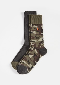 Ralph Lauren Polo Polo Ralph Lauren Camo Slack Socks