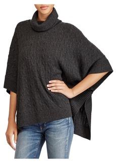 Ralph Lauren: Polo Poncho Sweater
