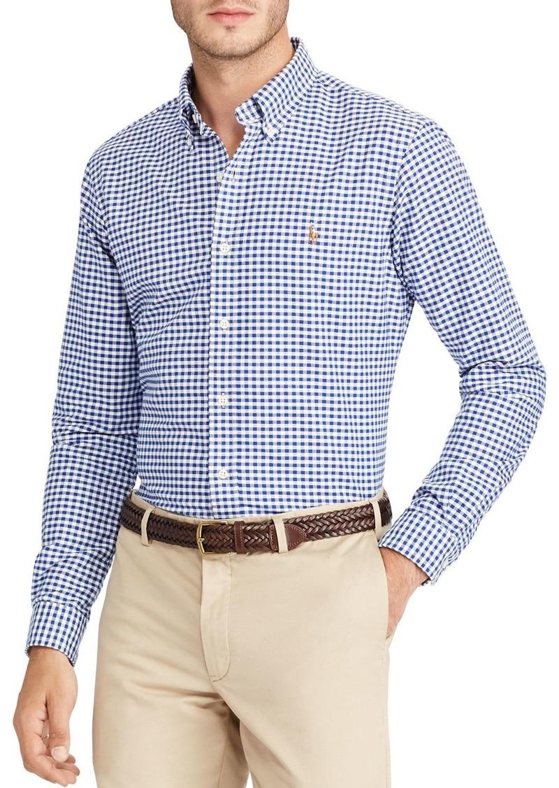 Ralph Lauren Polo Polo Ralph Lauren Checked Oxford Button-Down Shirt - Classic Fit