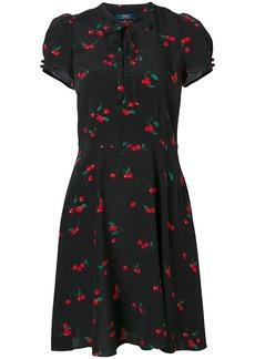 Polo Ralph Lauren cherry print dress - Black