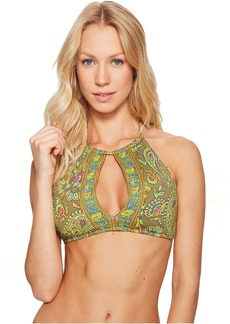 Ralph Lauren: Polo Polo Ralph Lauren Choppa Paisley High Neck Bikini Top