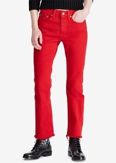 Ralph Lauren: Polo Polo Ralph Lauren Chrystie Kick Flare Crop Jeans