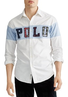 Ralph Lauren Polo Polo Ralph Lauren Classic Fit Appliqu� Oxford Shirt