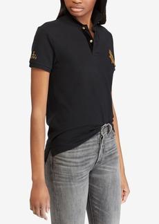 Ralph Lauren: Polo Polo Ralph Lauren Classic Fit Bullion Cotton Polo