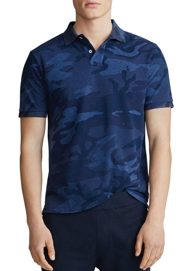 Ralph Lauren Polo Polo Ralph Lauren Classic Fit Camo Mesh Polo Shirt