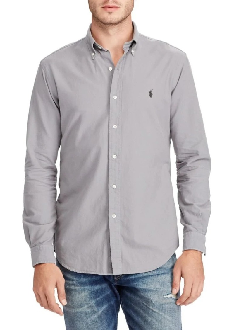 7243b1b5 Polo Ralph Lauren Classic-Fit Cotton Button-Down Shirt