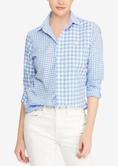 Ralph Lauren: Polo Polo Ralph Lauren Classic Fit Cotton Gingham Shirt