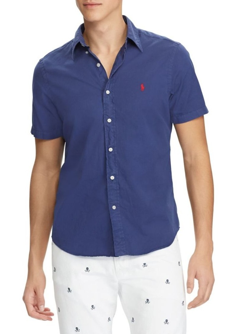 9f61bce874 Ralph Lauren Polo Polo Ralph Lauren Classic-Fit Button-Down Shirt ...