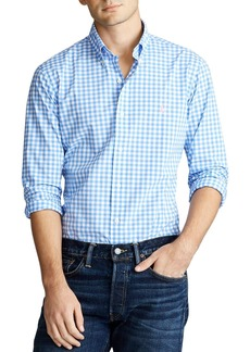 Ralph Lauren Polo Polo Ralph Lauren Classic Fit Gingham Button-Down Oxford Shirt
