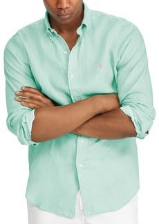 Ralph Lauren Polo Polo Ralph Lauren Classic Fit Linen Long Sleeve Button-Down Shirt