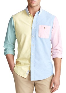 Ralph Lauren Polo Polo Ralph Lauren Classic Fit Oxford Color-Block Shirt