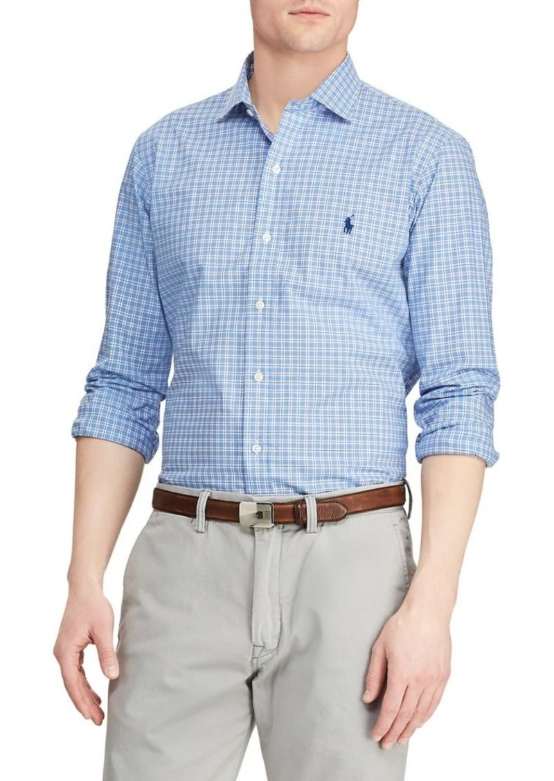 Ralph Lauren Polo Polo Ralph Lauren Classic-Fit Plaid Button-Down Shirt