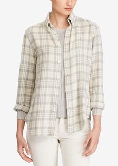 Ralph Lauren: Polo Polo Ralph Lauren Classic-Fit Plaid Cotton Shirt