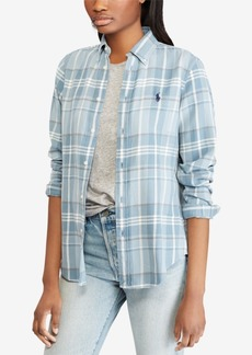 Ralph Lauren: Polo Polo Ralph Lauren Classic Fit Plaid Cotton Shirt