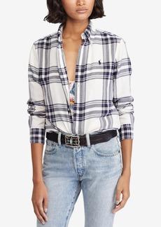 Ralph Lauren: Polo Polo Ralph Lauren Classic Fit Plaid Cotton Twill Shirt
