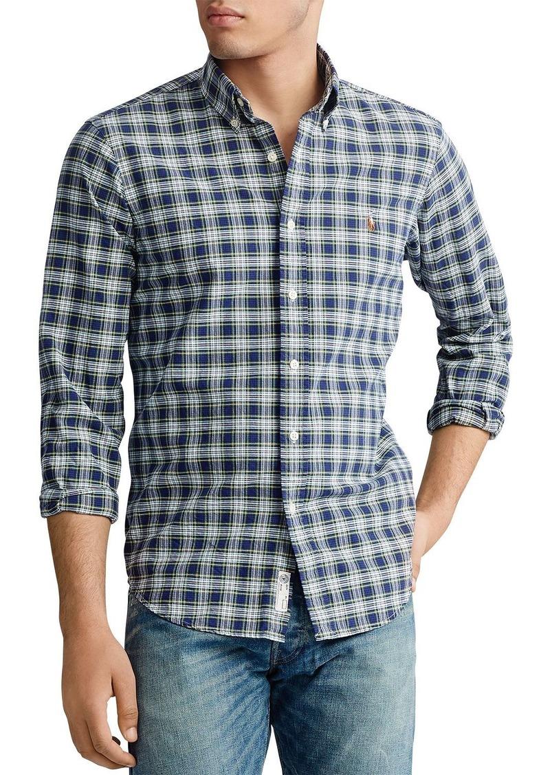 Ralph Lauren Polo Polo Ralph Lauren Classic Fit Plaid Oxford Shirt